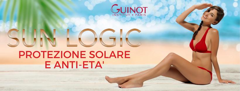Sun logic Guinot - protezione solare e anti-età