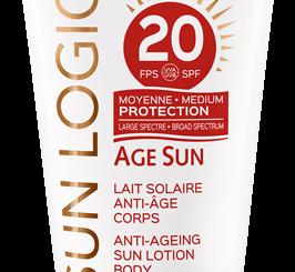 Latte media protezione solare per il corpo e anti-age