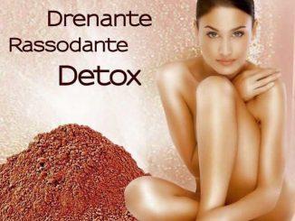 trattamento corpo argille rosse drenante riducente anti cellulite